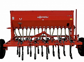 (Yay15) 15 Sıralı Yaylı Ayaklı Gübreli Mekanik Ekim Makinası