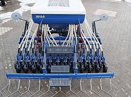 (3010DW) 24 Sıralı Çift Diskli Tekerlekli Pnömatik Hububat Ekim Makinası